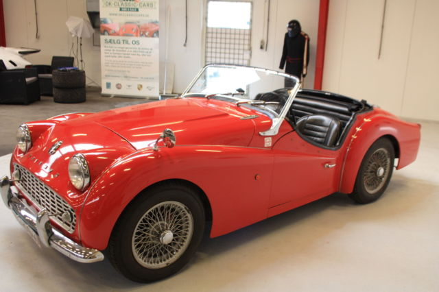 1958 Triumph Tr3 All Original And Matching Numbers Car