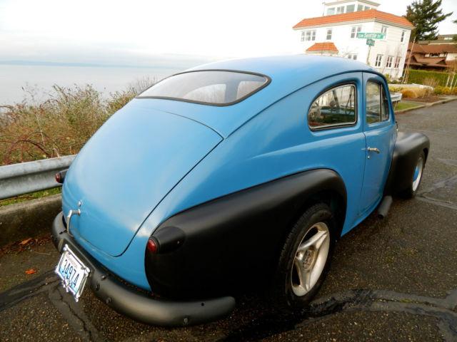 1958 Volvo PV444 Rat Hot Rod Bobber Custom PV 544