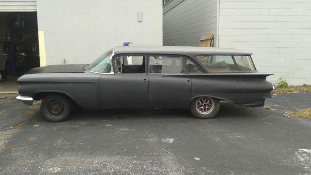 1959 Chevrolet Brookwood 4door Wagon Restoration Project