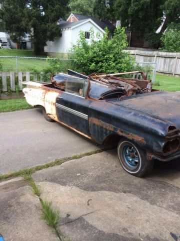 1959 Chevy Impala Convertible Project Car Donor Conv