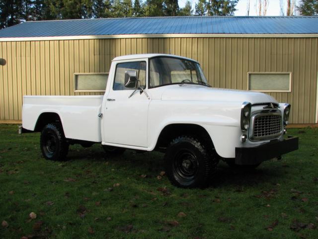 1959 IH International Harvester B120 4x4 Pickup 392 V8 Scout