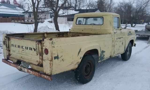 1959 Mercury M250 Rare Ford F 1 F100 F250 3 4 Ton Pickup