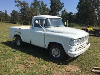 1960 Dodge short bed - D100 with 318 and factory 4 speed
