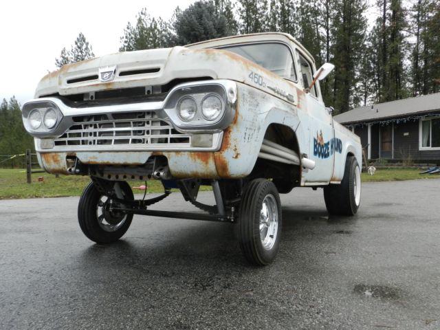 Ford Gasser Rat Rod Hot Rod Pickup