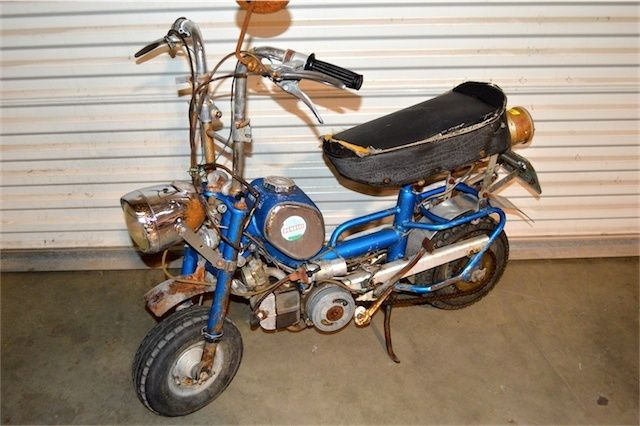 1960's 1970's Era Benelli Buzzer Folding Mini Bike Barn