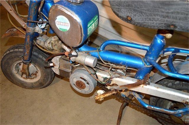 S S Era Benelli Buzzer Folding Mini Bike Barn Find Project Barnfind