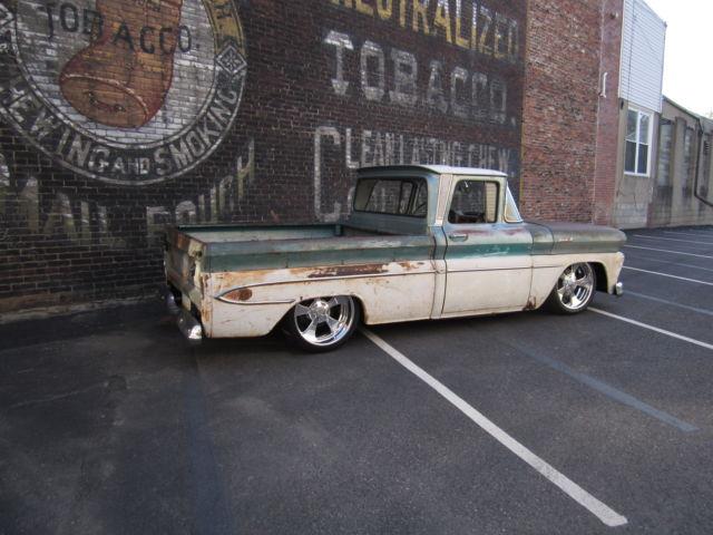 Chevrolet Apache C Bagged Patina Short Bed Hot Rat Rod Shop Truck Rare