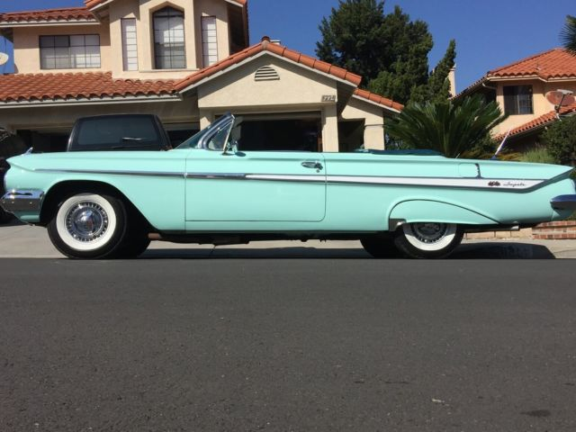 Chevrolet Dealers Los Angeles >> 1961 Chevrolet Impala Super Sport Convertible SS 348 V8 Bel Air