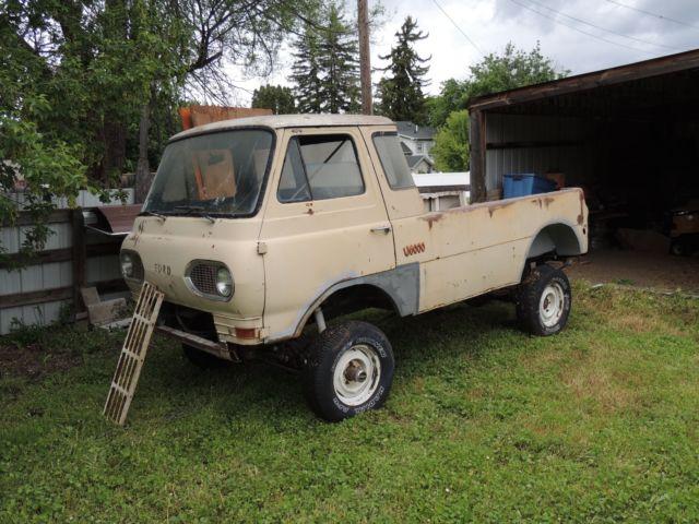1961 Ford Econoline Pick Up Truck 4x4 Camper Rock Crawler Vintage Van