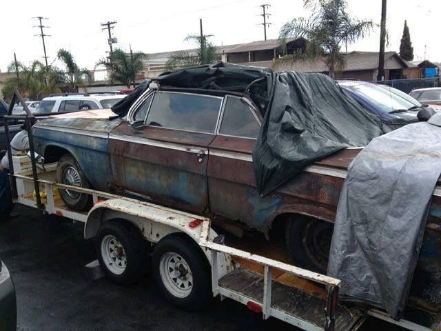 1962 Chevrolet Impala Convertible Original Ragtop 4 Restoration