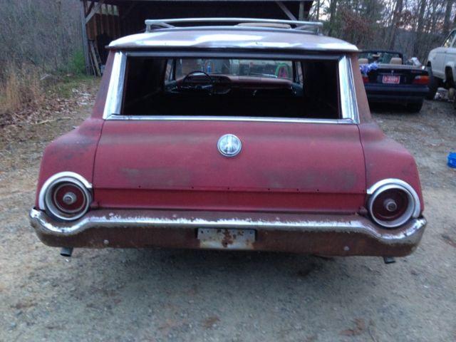 1962 Ford Ranch Wagon, sedan delivery, rat rod, custom