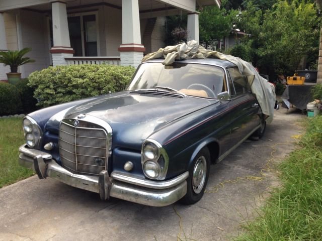 1962 Mercedes Benz 220 Seb Coupe W111