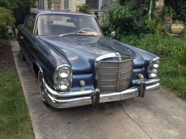 1962 mercedes benz 220 seb coupe w111 for 1962 mercedes benz