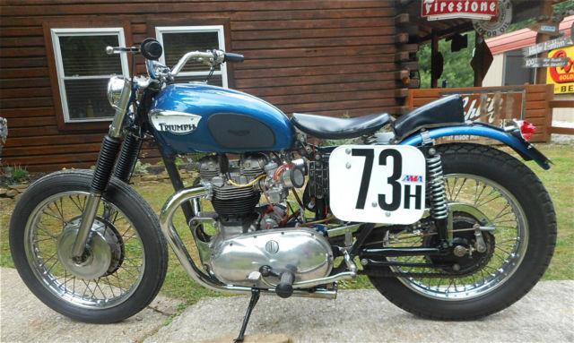 Byers Used Cars >> 1962 TRIUMPH PRE UNIT VINTAGE AHRMA FLAT TRACK TT RACER ...