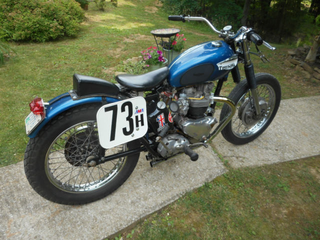 Byers Used Cars >> 1962 TRIUMPH PRE UNIT VINTAGE AHRMA FLAT TRACK TT RACER! LOCAL HISTORY! MUST SEE