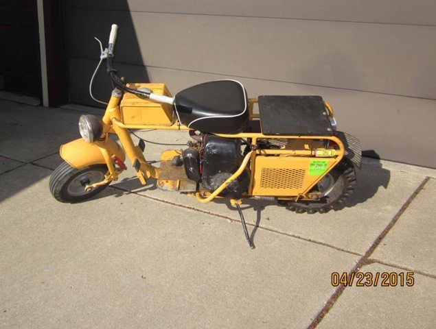 Mustang Moped 1963