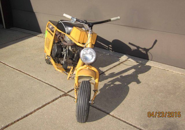 1963 63 Cushman Trailster Motor Cycle Scooter Motorcycle ...