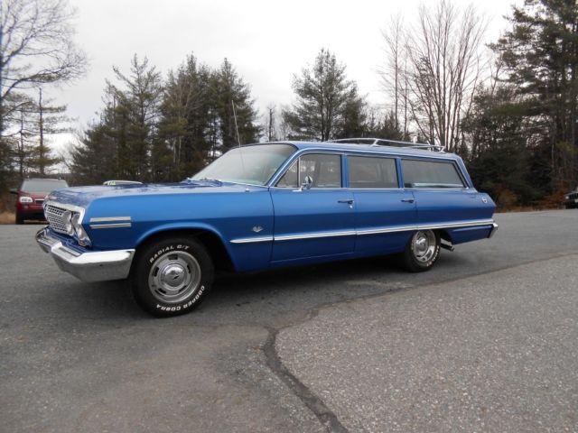 1963 chevrolet 9 passenger impala wagon. Black Bedroom Furniture Sets. Home Design Ideas