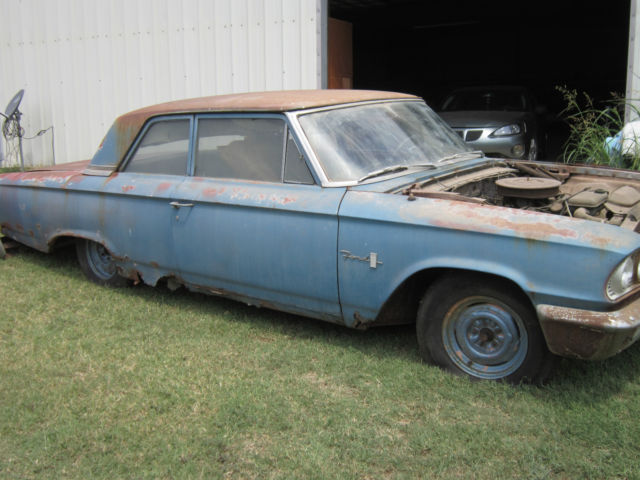 1963 Ford 300 State Police Car 2 Dr 390 330 Hp 3 Sp Column