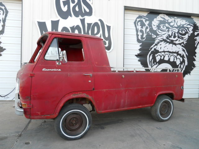 1963 ford e 100 project truck no reserve by gas. Black Bedroom Furniture Sets. Home Design Ideas