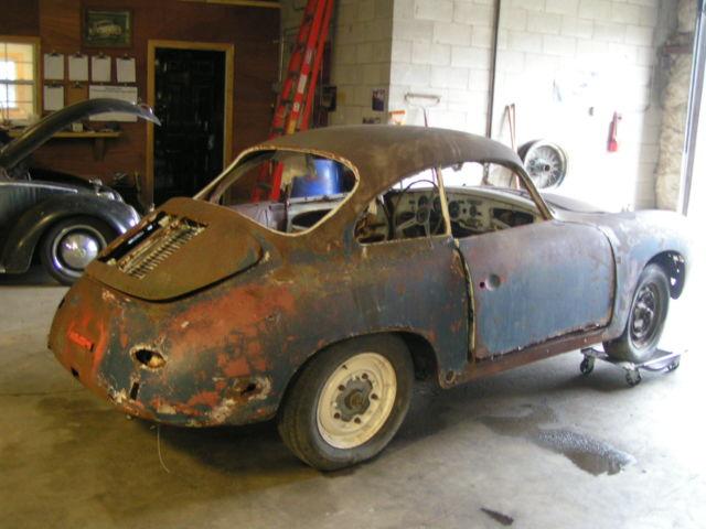 1963 Porsche 356 Barn Find Restoration ENGINE RUNS