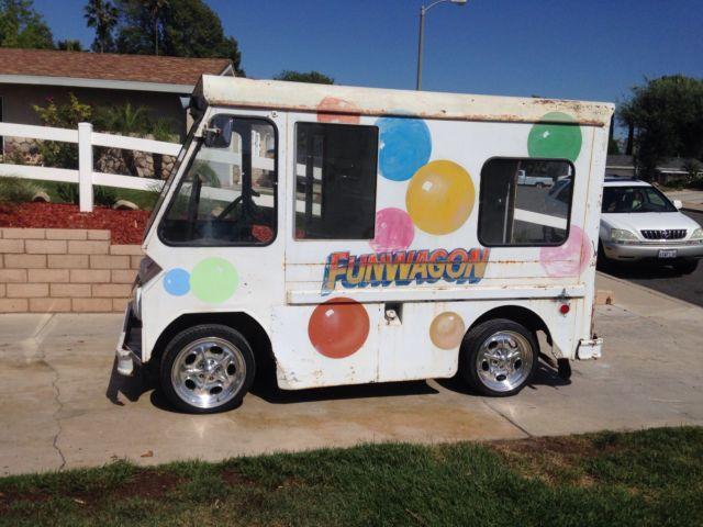 1963 Studebaker Zip Van Ice Cream Postal Step Van