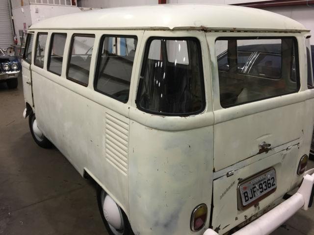 1963 vw bus 15 window kombi split window transporter nice for 14 window vw bus
