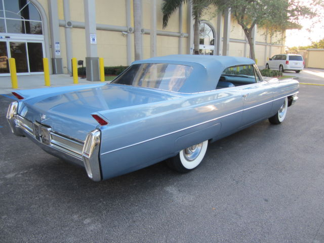 1964 cadillac deville convertible rust free florida car buy now