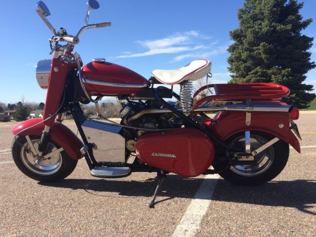 1964 cushman eagle scooter vanguard 18hp motor 2 speed tranny fast nice. Black Bedroom Furniture Sets. Home Design Ideas