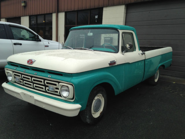 1964 Ford F100 Long Bed Restored In 2002 75k Original