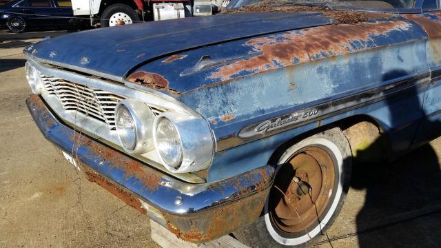 1964 Galaxie 500 Fastback Coupe for parts / restoration. NO RESERVE: http://veh-markets.com/cars/citroen-c/290442-1964-galaxie-500-fastback-coupe-for-parts-restoration-no-reserve.html