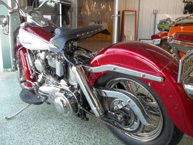 1964 Harley Davidson Duo Glide Panhead original parts and ...