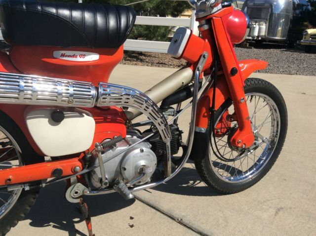 1964 Honda CT200 Early Pushrod Engine Motorcycle Rare and ...