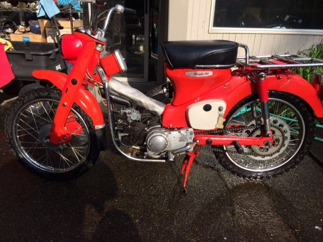 1964 honda ct200 trail 90 2 owner and in nice condition. Black Bedroom Furniture Sets. Home Design Ideas