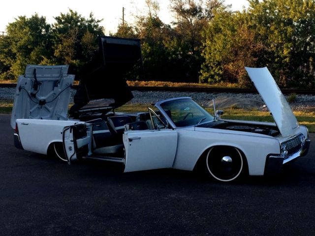 1964 lincoln continental convertible restored air ride mobsteel. Black Bedroom Furniture Sets. Home Design Ideas