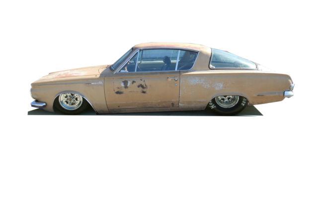 1964 Plymouth Barracuda, 6 cyl, 4-Speed, 100% Original, Free