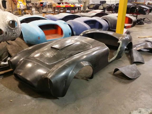 1964 Shelby Cobra 289 Carbon Fiber Body/Tub