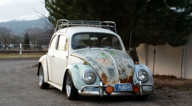 1964 Volkswagen Beetle Vw Bug Patina Vintage Hot Rod Rat