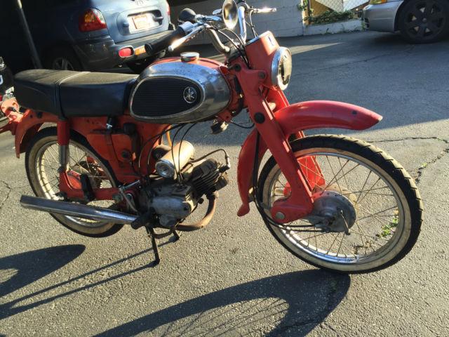 1964 yamaha yj1 60cc red good overall condition for Yamaha of pasadena