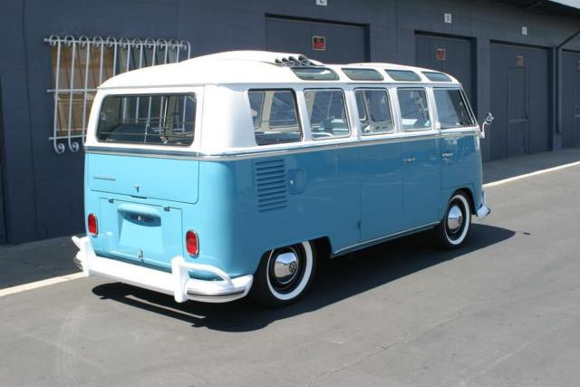 1965 21 window vw deluxe microbus 7 passenger for 1965 21 window vw bus