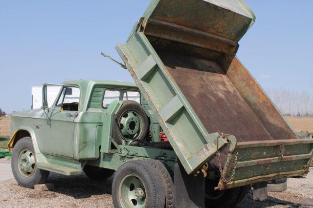 1965 Dodge D500 Quot Dump Truck Quot