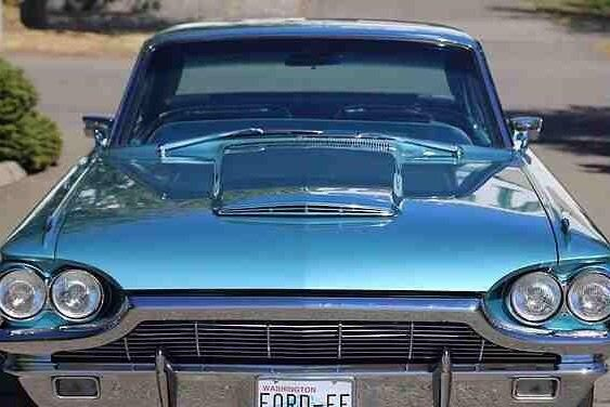 Ford Thunderbird Restomod Tripower Turquoise on 1965 Ford Mustang Engine Number Location Of