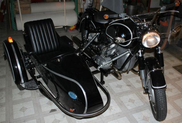 1965 R50 2 Bmw Fully Restored With Globe Sidecar