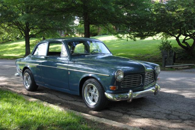 1965 Volvo 122s Amazon Coupe rare restored black plate CA ...