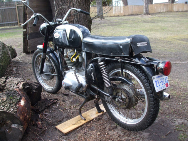 1966 BENELLI WARDS RIVERSIDE 250 MOTORCYCLE