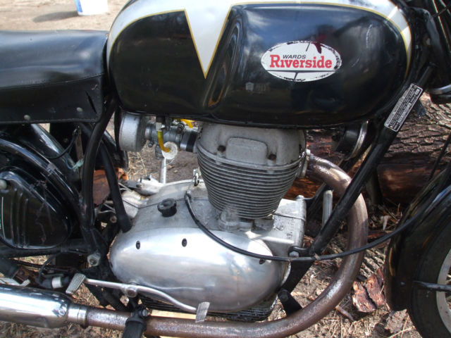 1966 BENELLI WARDS RIVERSIDE 250 MOTORCYCLE