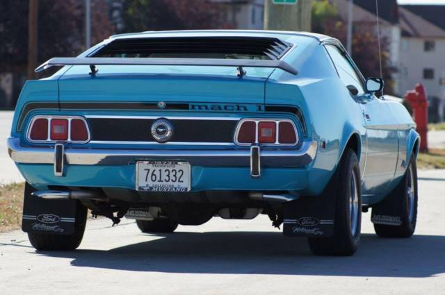 294888 1967 1968 1969 1970 1971 1972 1973 Ford Mustang Mach 1