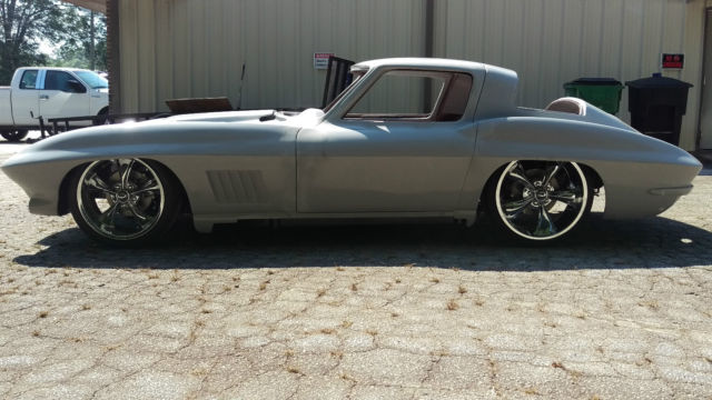 1967 Corvette Stingray Big Block Hood Custom Tube