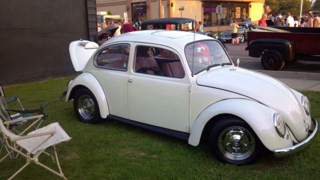 1967 Custom Vw Bug Cal Look Purple Pearl Paint Custom