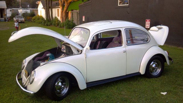 1967 Custom Vw Bug Cal Look Purple Pearl Paint Custom